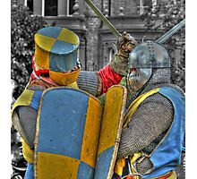Medieval duel  Photographic Print