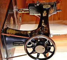 Old Sewing Machine Iphone Case by imagetj