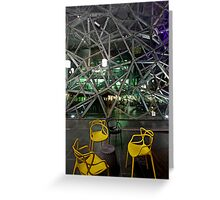 Meet me at Fed Square Greeting Card