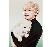Puppy Tae Photographic Print