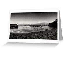 Port Douglas Beach and Sugar Wharf  Greeting Card
