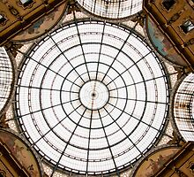 Milan Galleria ceiling dome by Michael Brewer