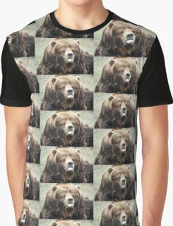 Sticking tongue out Bear Graphic T-Shirt