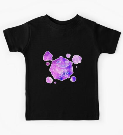 Koffing Galaxy Pokemon (ノ^ヮ^)ノ*:・゚✧ Kids Tee