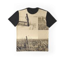 Seasons of the Fence BW Graphic T-Shirt