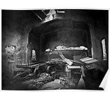 lost locomotive shed Poster