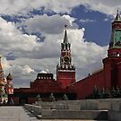 Kremlin. Red Square. by Irina Chuckowree