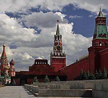 Kremlin. Red Square. by Irina Chuckowree