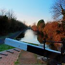 Canalside, Worcester by Lissywitch