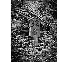 lost railroad sign Photographic Print