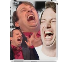 David Mitchell Hysterical Laugh iPad Case/Skin