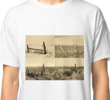 Seasons of the Fence BW Classic T-Shirt
