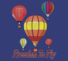 Freedom To Fly .. tee shirt by LoneAngel