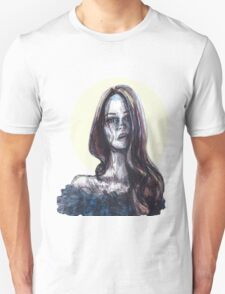 mixed media portrait Unisex T-Shirt