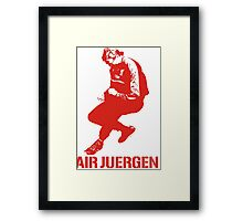 The Air Juergen Klopp Tees Framed Print