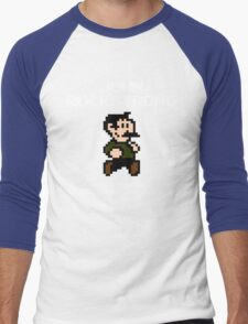 John Rockstrong Men's Baseball ¾ T-Shirt