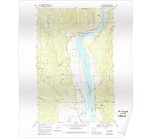 USGS Topo Map Washington State WA Jared 241693 1968 24000 Poster