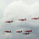 The Red Arrows by Pancake76