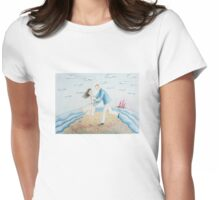 Red sails Womens Fitted T-Shirt