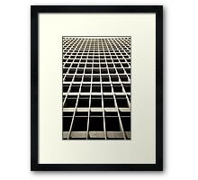 LA Up Framed Print