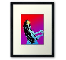 70's Rock Framed Print