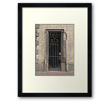 Door - Hull Framed Print