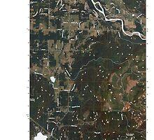 USGS Topo Map Washington State WA Lawrence 20110418 TM by wetdryvac