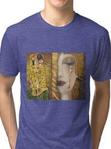 My Klimt Serie:Gold Tri-blend T-Shirt