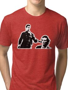 Mad Max And Johnny The Boy Tri-blend T-Shirt