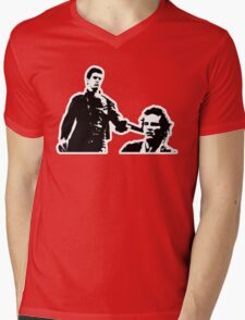 Mad Max And Johnny The Boy Mens V-Neck T-Shirt