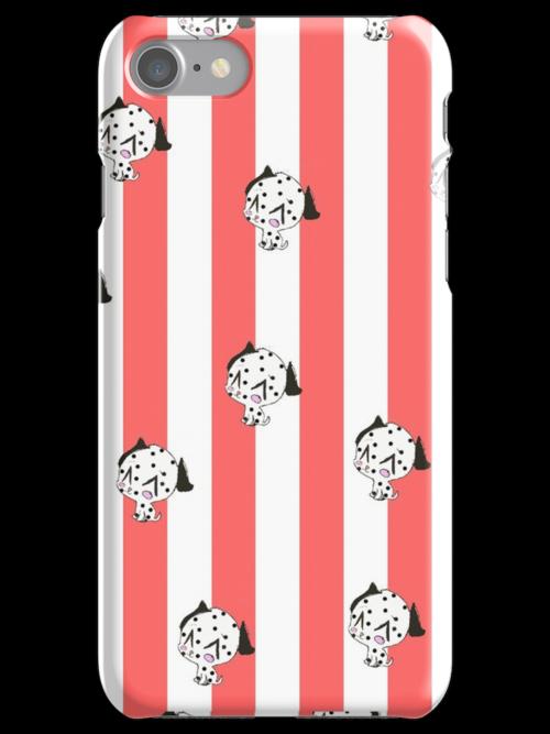 Dalmation Iphone Case by Zozzy-zebra