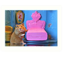 """""""And, This Bed Is Just Right...."""" Art Print"""
