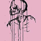 Skeleton 2 (pink) by Laura Potter-Dunn