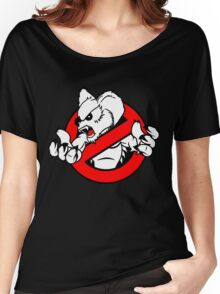 GB: Australia Drop Bear (red) Women's Relaxed Fit T-Shirt