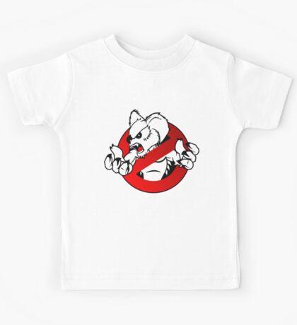 GB: Australia Drop Bear (red) Logo v2 Kids Tee