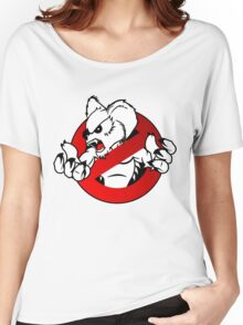 GB: Australia Drop Bear (red) Logo v2 Women's Relaxed Fit T-Shirt