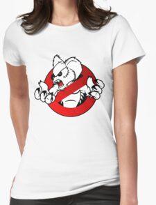GB: Australia Drop Bear (red) Logo v2 Womens Fitted T-Shirt