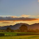 The Lake District: Sunset over the Fells by Rob Parsons