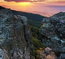 Autumn Sneak Peek - Shenandoah National Park, VA by Matthew Kocin