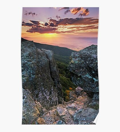 Autumn Sneak Peek - Shenandoah National Park, VA Poster
