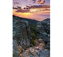 Autumn Sneak Peek - Shenandoah National Park, VA Photographic Print