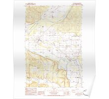 USGS Topo Map Washington State WA Rochester 243494 1986 24000 Poster
