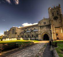Christchurch Priory by Rob Hawkins