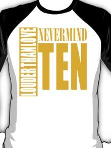 Nevermind Ten Facelift Louder than the Sound Grunge albums T-Shirt