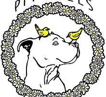 PIT BULLS ARE LOVERS by urbansuburban