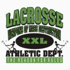 Lacrosse Athletic Dept by SportsT-Shirts