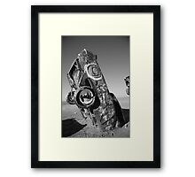 Route 66 - Cadillac Ranch Framed Print