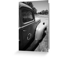 Route 66 Pickup Truck Greeting Card