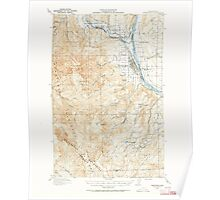 USGS Topo Map Washington State WA Wenatchee 244600 1913 62500 Poster