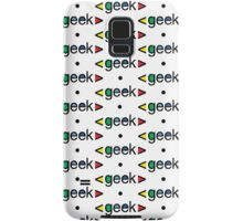 Geek Alert iphone 3G  4G  4s  Samsung Galaxy Case/Skin